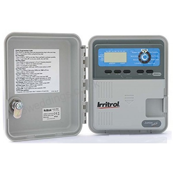 Irritrol JUNIOR MAX - Προγραμματιστής ρεύματος AC, 6 στάσεων, εξωτερικού χώρου, οικιακών εφαρμογών
