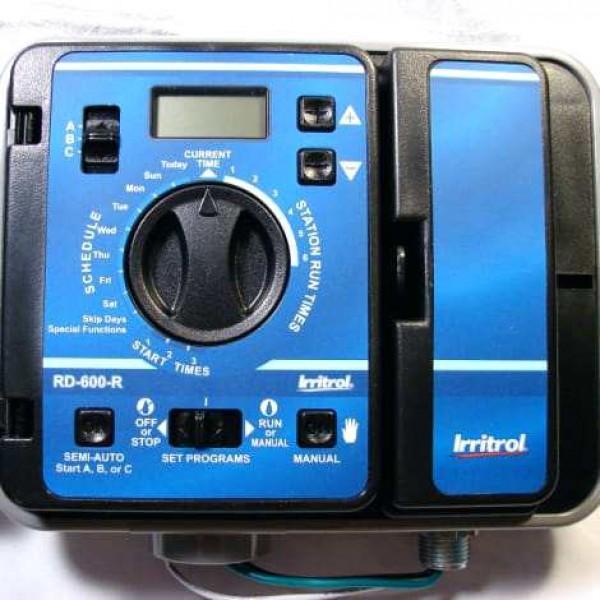 Irritrol RAIN DIAL - Προγραμματιστής ρεύματος AC, 12 στάσεων, εξωτερικού χώρου, επαγγελματικών εφαρμογών